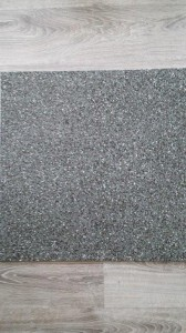 Epoxy Flake Floor Black Granite