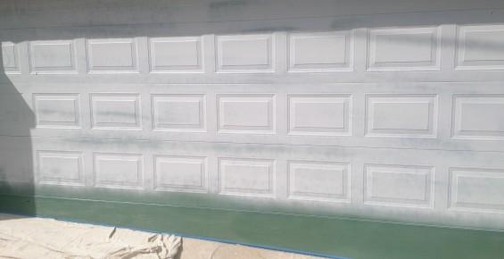 Garage Door Painting Garage Door Makeover Coat Rite